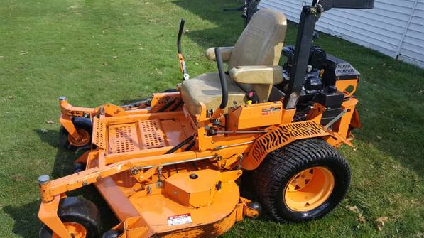 how to keep a zero turn mower clean